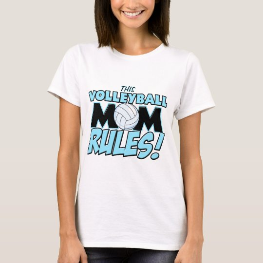 This Volleyball Mom Rules.png T-Shirt