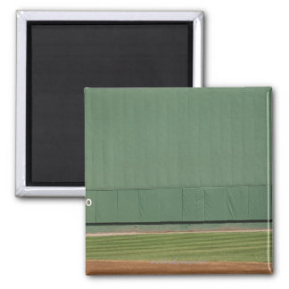 This wall is known as 'the Green Monster.'Foul 2 Inch Square Magnet