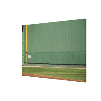 This wall is known as 'the Green Monster.'Foul Canvas Print