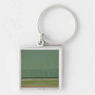 This wall is known as 'the Green Monster.'Foul Keychain