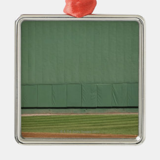 This wall is known as 'the Green Monster.'Foul Christmas Ornaments