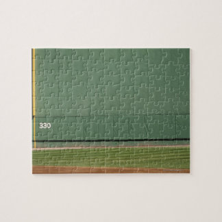 This wall is known as 'the Green Monster.'Foul Puzzle