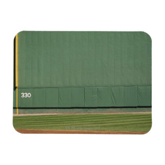 This wall is known as 'the Green Monster.'Foul Rectangular Photo Magnet