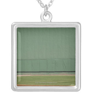 This wall is known as 'the Green Monster.'Foul Square Pendant Necklace