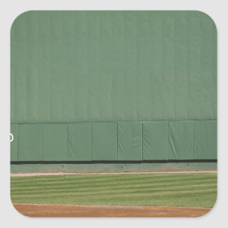 This wall is known as 'the Green Monster.'Foul Square Sticker