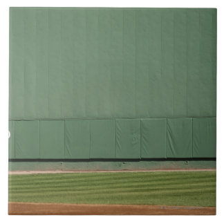 This wall is known as 'the Green Monster.'Foul Tile
