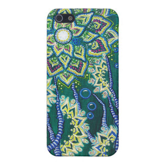 """""""This Was All Ocean, Once"""" (Floral Aquatic Scene) Case For iPhone SE/5/5s"""