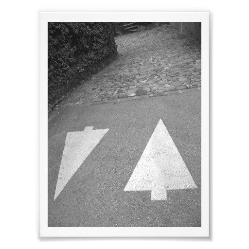 This Way Photo Print