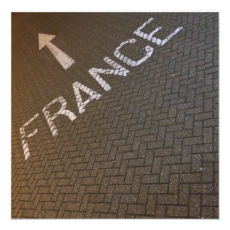 This way to France! Card
