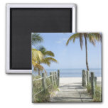 This way to Paradise 2 Inch Square Magnet