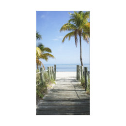 This way to paradise canvas print
