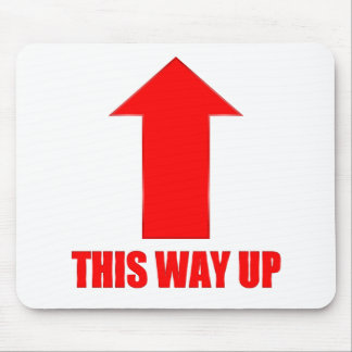 This Way Up Mouse Pad