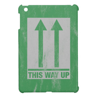 This way up sign cover for the iPad mini