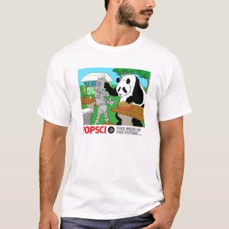 This Week In The Future: Panda Versus Robot T-Shirt