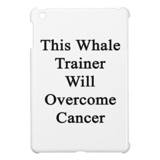 This Whale Trainer Will Overcome Cancer Cover For The iPad Mini