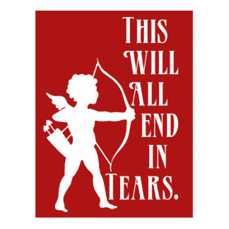 This Will All End in Tears Postcard