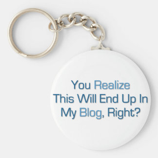 This will end up in my Blog Basic Round Button Keychain