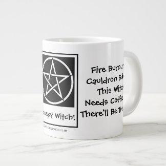 This Witch Needs Coffee JUMBO pagan wiccan mug cup