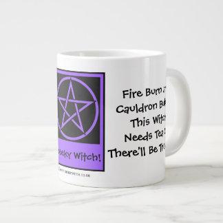 This Witch Needs Tea JUMBO pagan wiccan mug cup