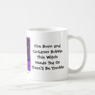This Witch Needs Tea! Tea-addicts Cup/Mug Classic White Coffee Mug
