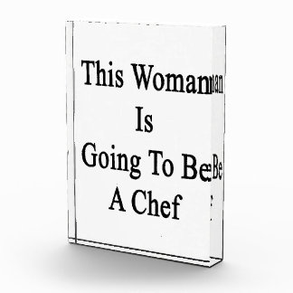 This Woman Is Going To Be A Chef Award