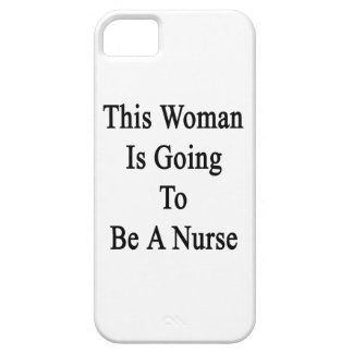 This Woman Is Going To Be A Nurse iPhone 5 Case