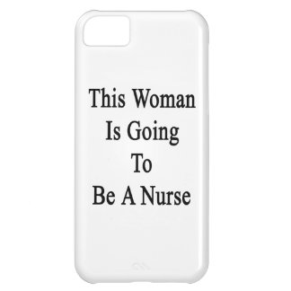This Woman Is Going To Be A Nurse Case For iPhone 5C