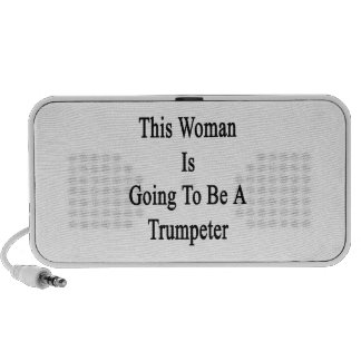 This Woman Is Going To Be A Trumpeter Speaker System