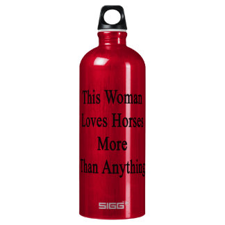 This Woman Loves Horses More Than Anything SIGG Traveler 1.0L Water Bottle