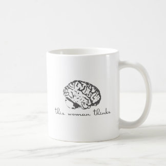 This Woman Thinks Coffee Mug
