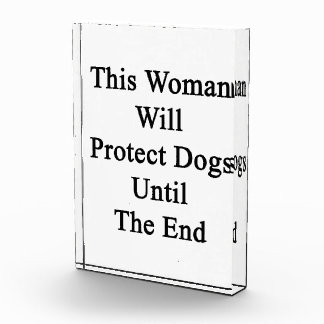 This Woman Will Protect Dogs Until The End Award