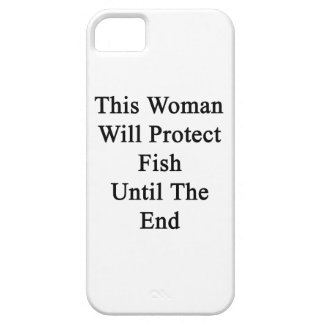 This Woman Will Protect Fish Until The End iPhone 5 Covers