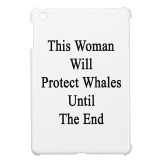 This Woman Will Protect Whales Until The End Cover For The iPad Mini