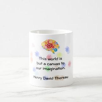 This World a Canvas Coffee Mug