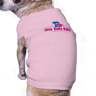 ThisBabeBakes Doggie Ribbed Tank Top Pet T-shirt