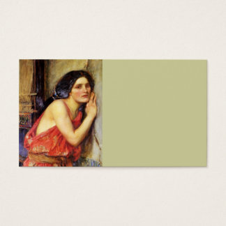 Thisbe 1909 business card
