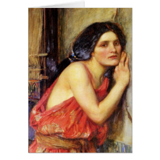 Thisbe 1909 card