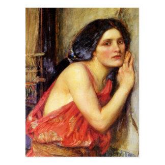 Thisbe 1909 postcard