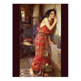 Thisbe by John William Waterhouse Postcard
