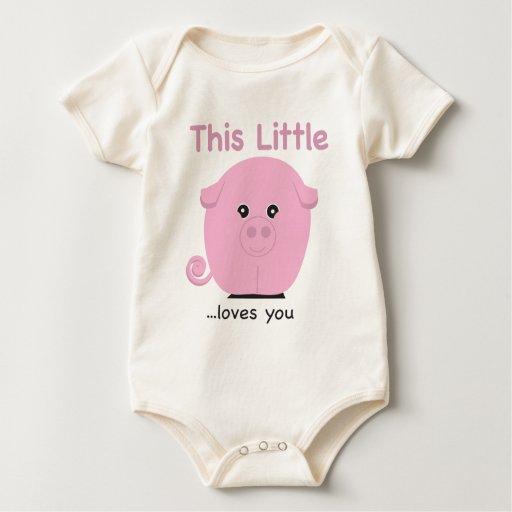 ThisLittlePiggy Baby Bodysuit