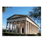 Thission - el templo de Hephaestus Postal