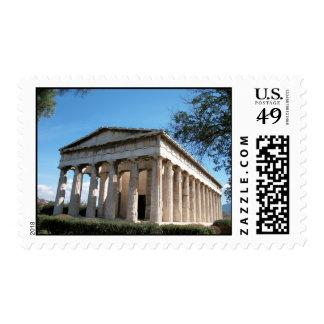 Thission - el templo de Hephaestus Sellos
