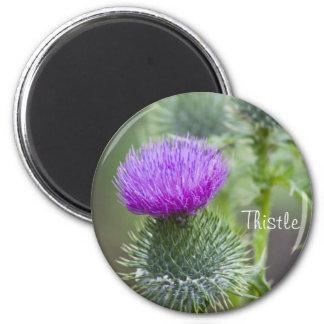 Thistle 2 Inch Round Magnet