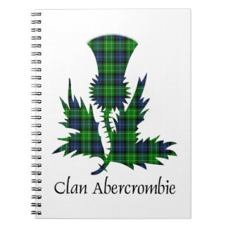 Thistle - Abercrombie Spiral Notebook