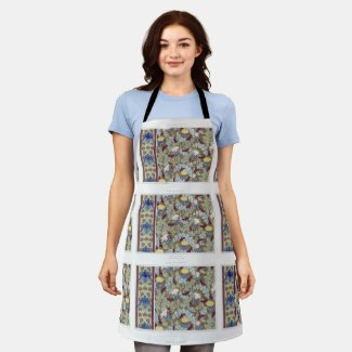 Thistle and Raven Apron