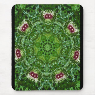 Thistle Buds Mouse Pad