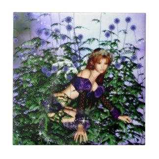 Thistle Fairie Tile
