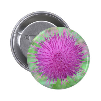Thistle Flower Pins