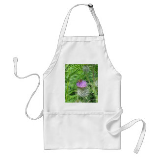 Thistle In Blossom Adult Apron