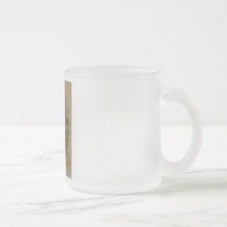 THISTLE invasive weed? Frosted Glass Coffee Mug